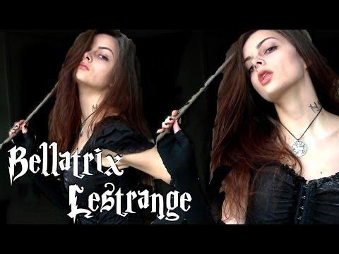 Bellatrix Lestrange Last Minute Halloween Costume Youtube