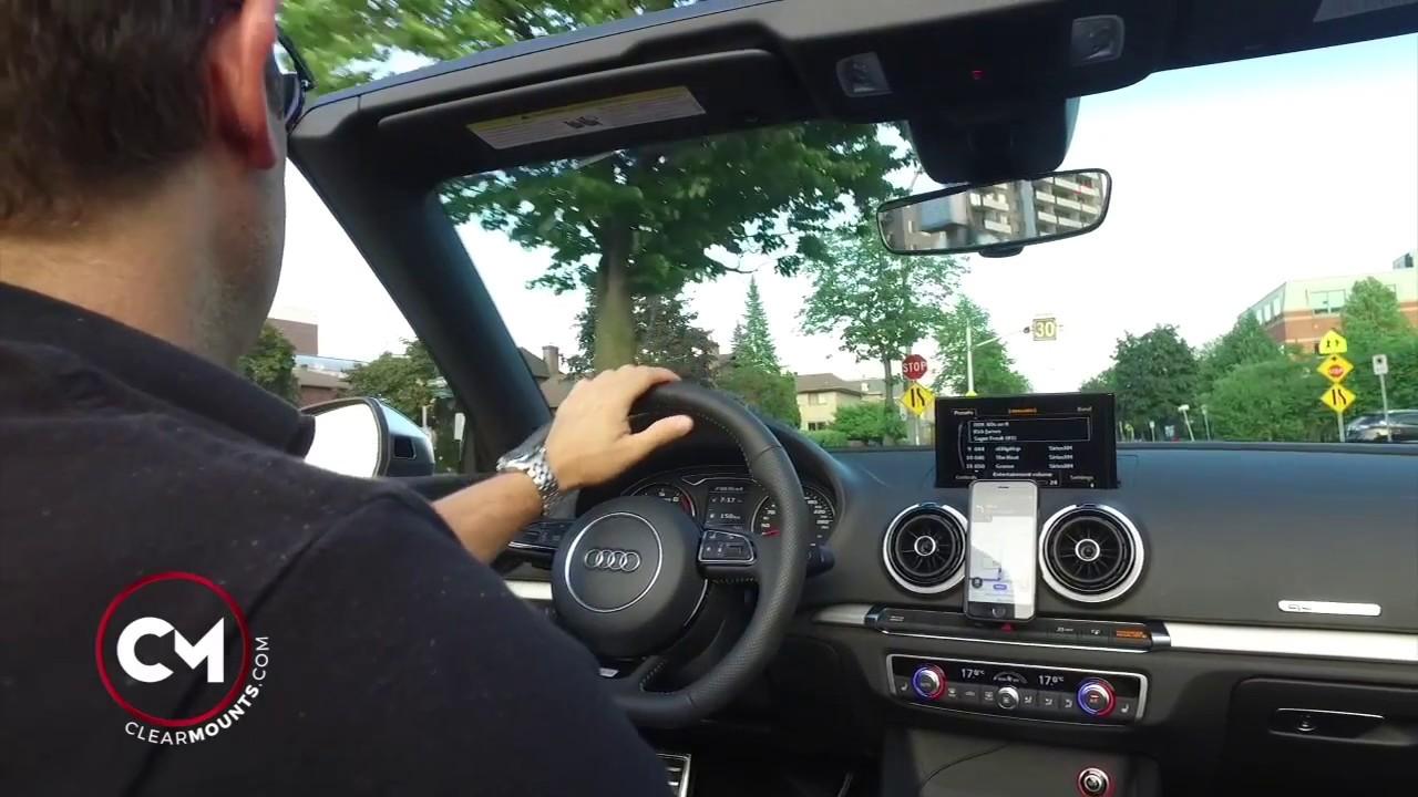 Custom Designed Audi Phone Holder