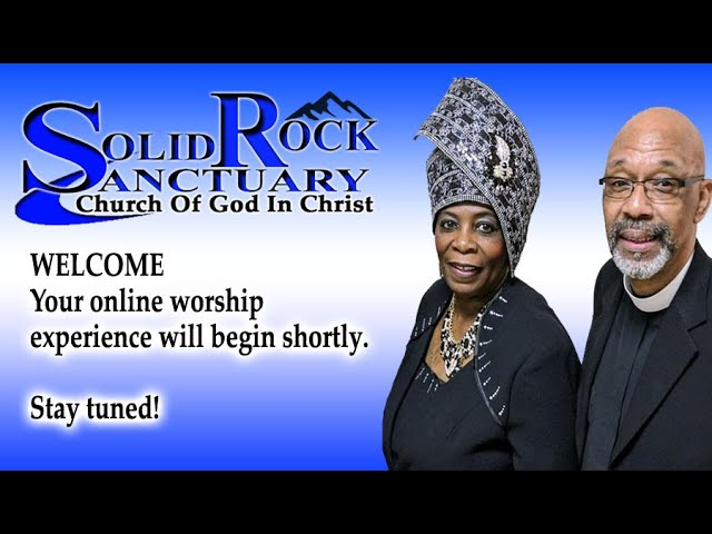 08-29-2021 - Solid Rock Live Stream with Arnold C. Ruffin