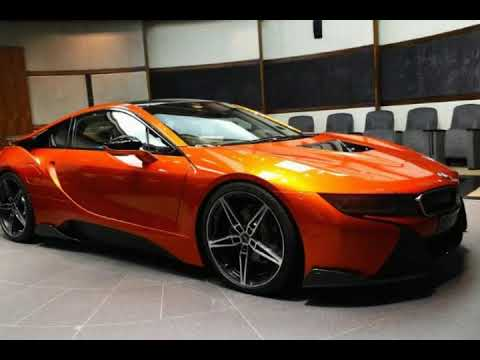 Wow Look This Lava Orange Bmw I8 With Ac Schnitzer Goodies Youtube