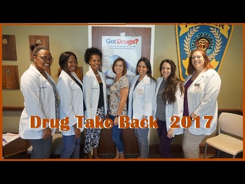 Drug Take Back Event - Pharmacy School| Dr. Derri #8