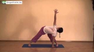 Parivrtta Trikonasana II - Revolved Triangle Pose