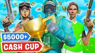 How We Won $5000+ In Fortnite! (Cash Cup)