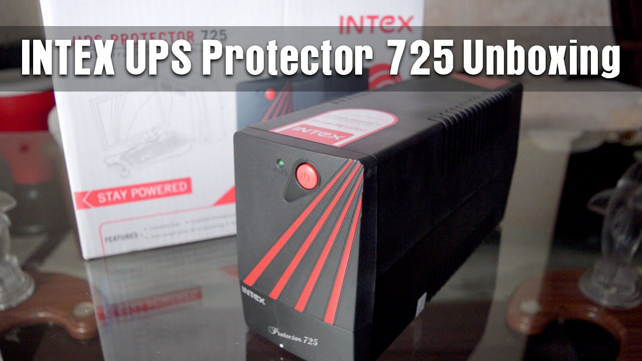 Intex Ups Protector 600va Circuit Diagram Trusted Schematics U P S 725 Unboxing India By King Tutorials Youtube