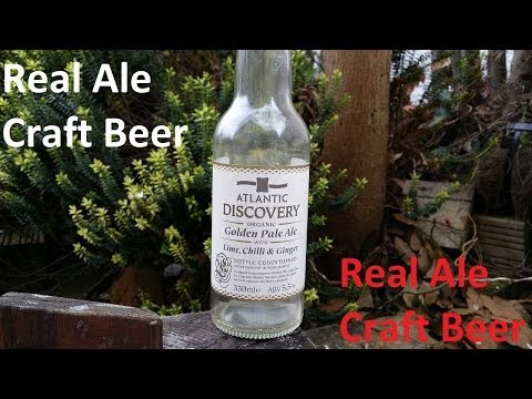 Atlantic Discovery Organic Golden Ale Lime Chilli & Ginger | Craft Beer Review
