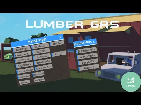 ROBLOX | SCRIPT | PAID GUI | LUMBER TYCOON 2 | LUMBER GAS | ITEM DUPE, SLOT  DUPE, WALKSPEED & MORE by ZombieHax