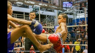 Muay Thai Prodigy, Teedurm Sumalee stunned the crowed at Bangla Boxing Stadium, 8th October 2017