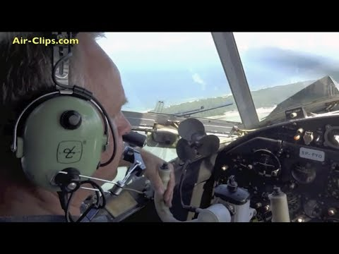 "Antonov 2 ""General Aviation Airlines"" over Hel peninsula near Gdansk. [AirClips full flight series]"