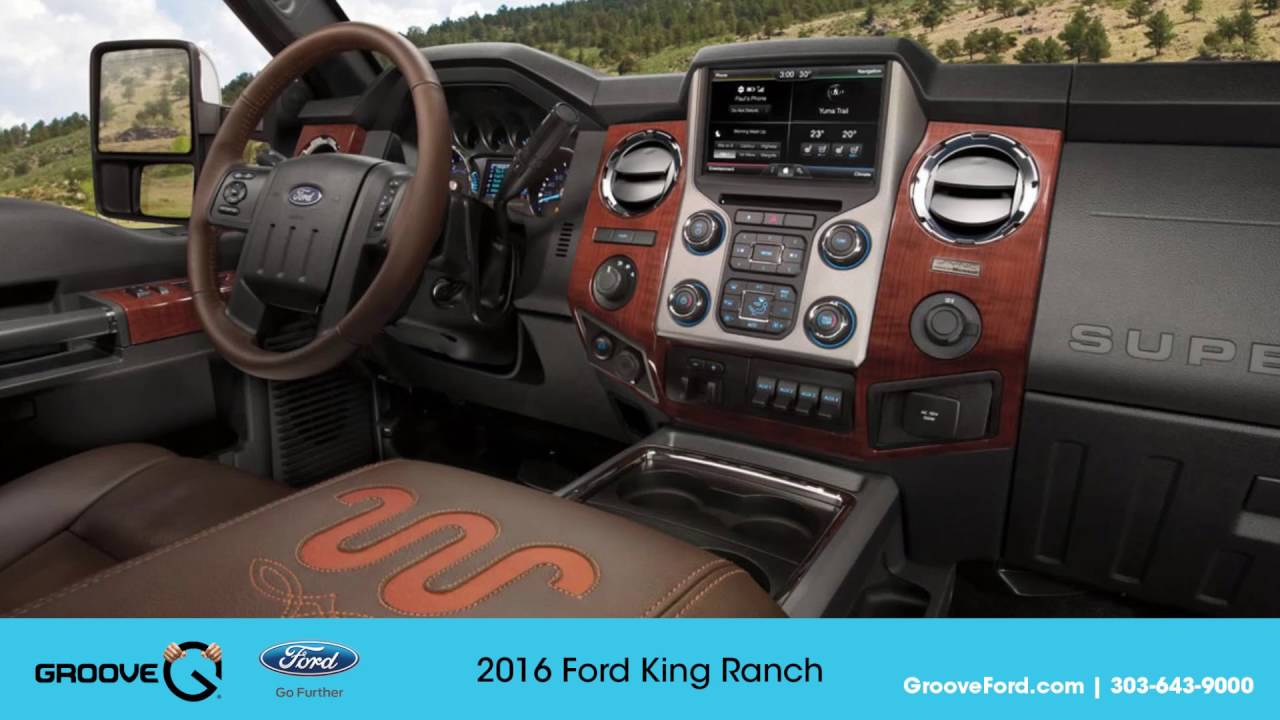 2016 F250 King Ranch >> Walkthrough And Test Drive Of 2016 Ford King Ranch