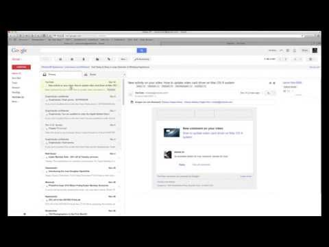 How to change Gmail view to look like Outlook