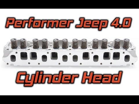 edelbrock performer jeep 4 0 cylinder head