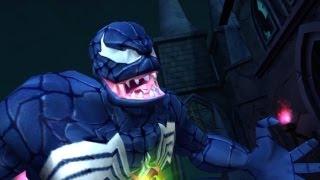 Spider-Man: Friend or Foe - Walkthrough Part 16 - Ancient Church: Spider-Man Vs. Venom