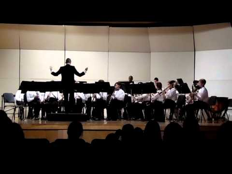 Bradford Middle School EOY Concert (2015) - Concert Band - Theme from Jurassic Park (Part 1)