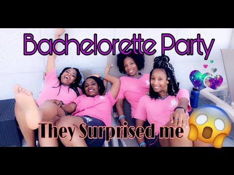 HOW MY BACHELORETTE WEEKEND PARTY WENT 😱😱 / LETS GET MARRIED