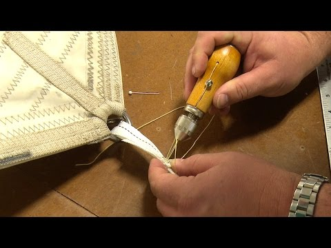 Using the Speedy Stitcher to Sew Webbing & Canvas