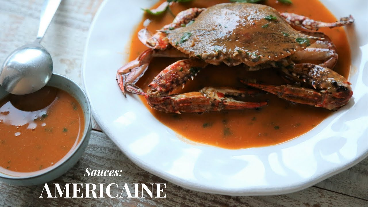 Dressing À L Américaine sauce americaine: the mother of all seafood sauces ( made with crabs)