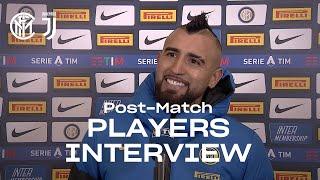INTER 2-0 JUVENTUS | ARTURO VIDAL + ALESSANDRO BASTONI EXCLUSIVE INTERVIEWS [SUB ENG]