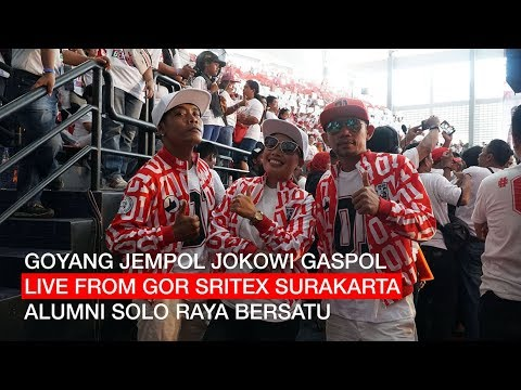 GOYANG JEMPOL JOKOWI GASPOL LIVE FROM GOR SRITEX SOLO