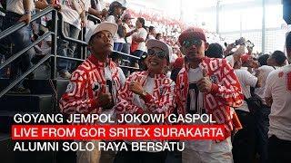 Gambar cover GOYANG JEMPOL JOKOWI GASPOL LIVE FROM GOR SRITEX SOLO