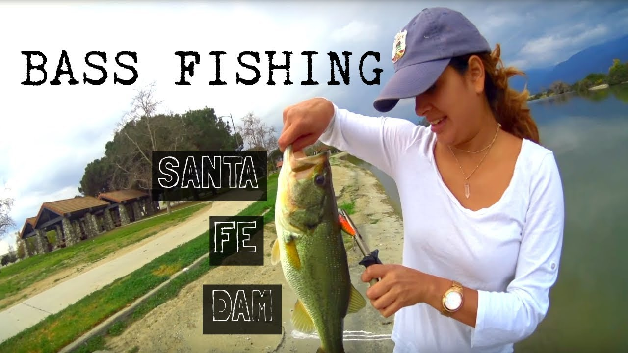 Santa Fe Dam Bass Fishing We Follow Rivers Youtube