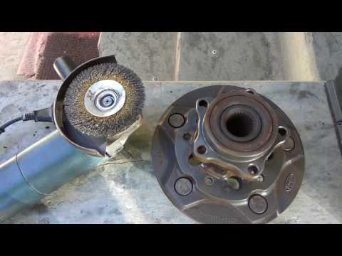 Замена передних тормозных дисков Transit 2.2 2007
