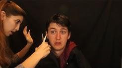 ✂️ASMR💈Relaxingly Hilarious Haircut ✨ (Actually Cutting His Hair)