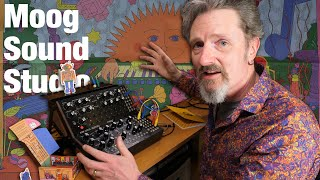 Moog Sound Studio - Assembly, exploration and review