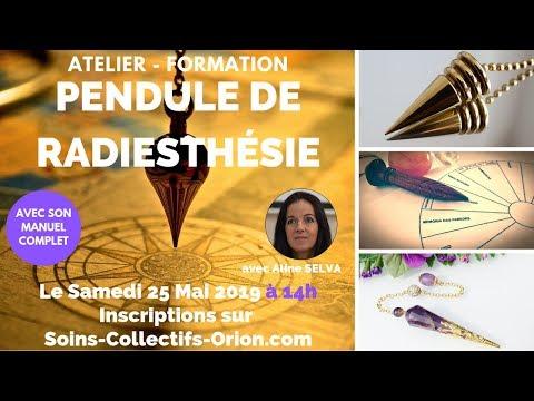 [BANDE ANNONCE] Atelier-Formation Pendule avec Aline SELVA le Samedi 25 Mai 2019 à 14h