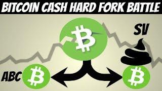 Bitcoin Cash Hard Fork |  Hash Wars Turn into Protracted Battle (ABC vs SV)