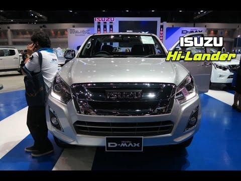รถกระบะ ISUZU HI-LANDER 4 DOOR ภาพจริงพร้อมราคา Motor Expo 2016 (1-12 ธ.ค.)
