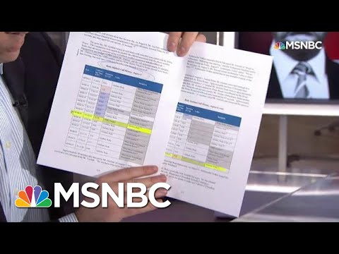 Call Logs Between Rudy Giuliani, Budget Office Revealed In Impeachment Report | Katy Tur | MSNBC