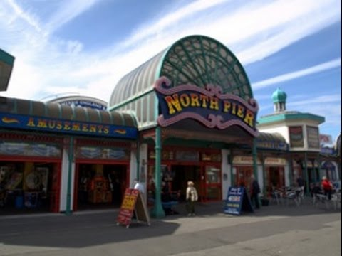 Blackpool North Pier Amusement Arcade full walk through