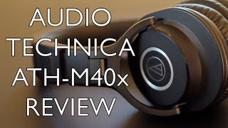 Audio Technica ATH-M40X Review - BEST Headphones Under $100?