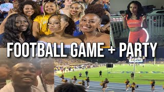 FIRST NCAT HOME GAME + MINI CHIT CHAT & WSSU VS NCAT PARTY | COLLEGE VLOG SERIES EPISODE 5