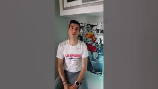El atleta Camilo Santiago agradece la labor de sanitarios y Policía