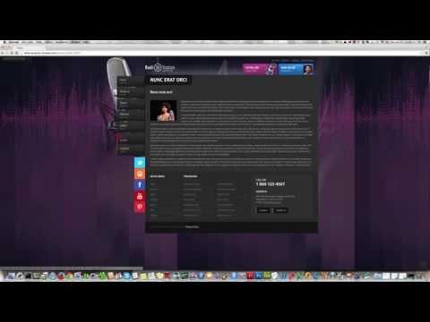 Radio Joomla Template 3.0 Version, ID: 300111815