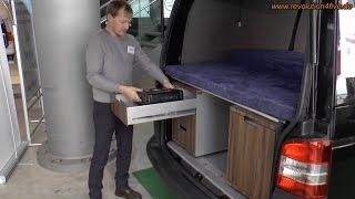 QUBIQ - Moduleinbauten für VW T6