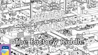 Hidden Folks: The Factory Riddle Walkthrough Guide & iOS iPad Gameplay (by Adriaan de Jongh)