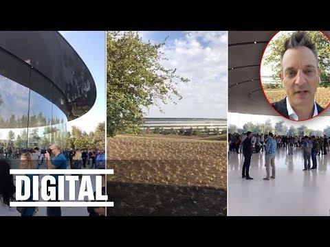 Inside Apple Park - BILD im neuen Apple Office / iPhone X wird vorstellt