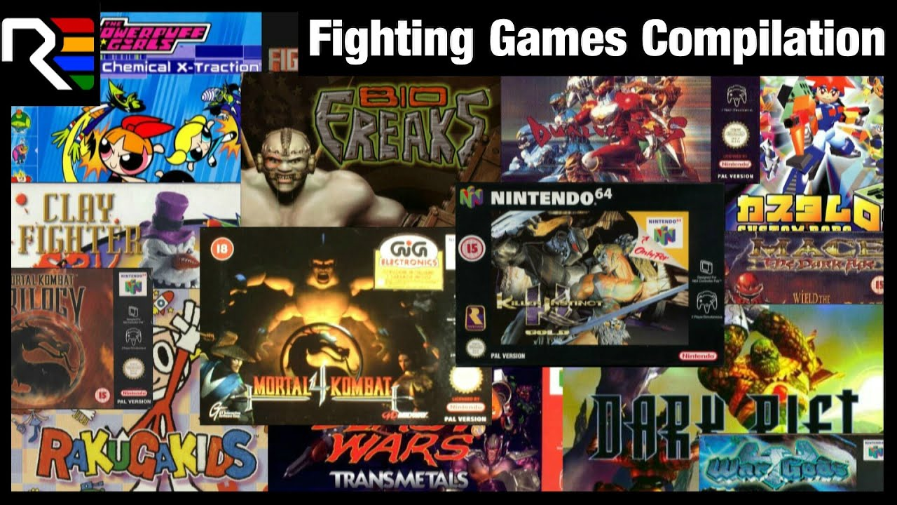 N64 Fighting Games Compilation Youtube