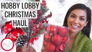 2018 HOBBY LOBBY CHRISTMAS HAUL