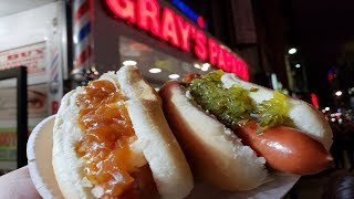 The Best Hot Dog in New York