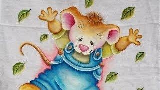 Aula Completa – Pintura em tecido – Ratão
