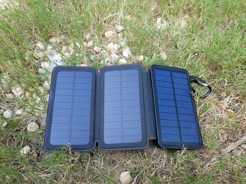 WBPINE — Power bank and solar charger — Best yet!