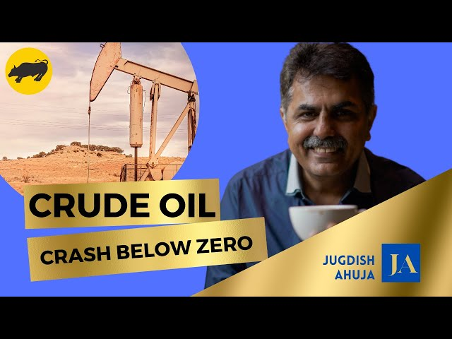 Why did Crude oil Flash crash below Zero on 20th April 2020.