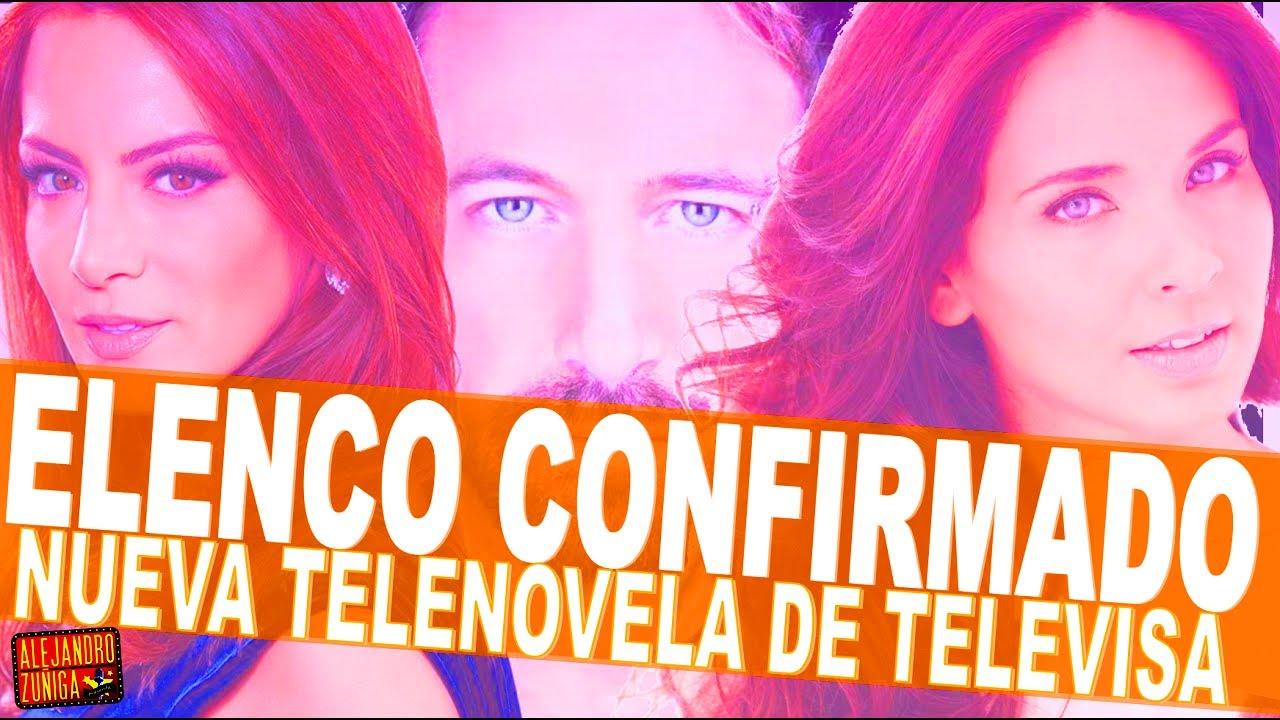 Elenco CONFIRMADO de  Caer en Tentación   la nueva telenovela de Televisa!  sc 1 st  YouTube & Elenco CONFIRMADO de