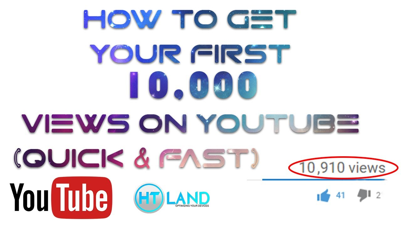 FREE 10,000 YouTube Views (Quick & Fast) - YouTube