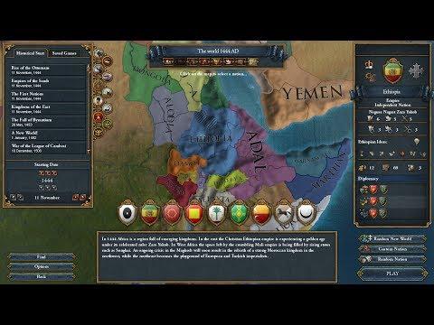 *PSI Live* - Europa Universalis IV (Ethiopia) - Part 1: Axumite Empire