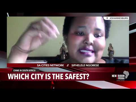 Which city is the safest in South Africa?