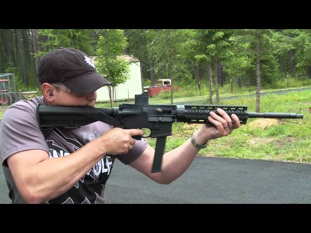 Slide Fire Solutions SSAR15 Lone Wolf Distributors 9mm Carbine Test